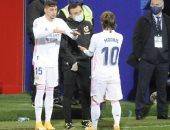مودريتش مهدد بالغياب عن ريال مدريد أمام غرناطة وإلتشي بسبب الإصابة