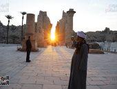 تعامد الشمس على الآثار المصرية ظاهرة قديمة.. مصادفة أم قصد من الفراعنة؟