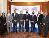 جمعية رجال أعمال الإسكندرية تستقبل السفير البولندى بمصر لبحث التعاون
