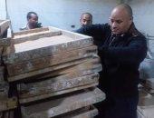 ضبط 25 مخالفة تموينية خلال حملات رقابية بمركز ديرمواس بالمنيا