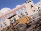 ميليشيات الحوثى تستولى على مسجد فى صنعاء وتحوله إلى محال تجارية.. صور