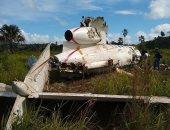 تحطم طائرة تحمل كوكايين بـ16 مليون دولار فى دولة جواتيمالا.. صور