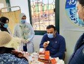قافلة طبية بالوادى الجديد للكشف والعلاج المجانى ضمن مبادرة حياة كريمة