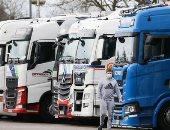أزمة الشاحنات فى بريطانيا تنتقل إلى اسبانيا وعبر أوروبا