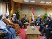 وكيل الأزهر يستقبل وزير الأوقاف السودانى لبحث سبل تعزيز التعاون المشترك