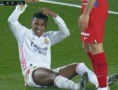 ريال مدريد ضد غرناطة.. تعادل سلبي فى الشوط الأول وإصابة رودريجو