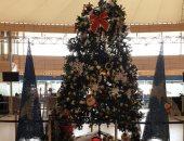 تزيين المطارات لاستقبال السياح فى أعياد رأس السنة