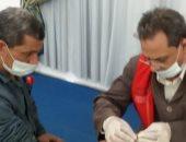 مصنع 200 الحربى يستقبل حملة 100 مليون صحة.. صور