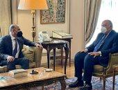 وزير الخارجية يبحث مع رئيس تيار الغد سبل حل الأزمة السورية