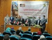 خيرى فرغلى رئيسًا لاتحاد طلاب جامعة المنيا وعصام سليمان نائبًا له