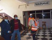 جامعة المنصورة تحيل واقعة تعقيم قاعة الامتحانات فى وجود الطلاب للتحقيق
