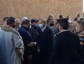 محافظ القليوبية ومدير الأمن يقدمان واجب العزاء لأسرة المستشار لاشين إبراهيم