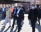 """مسئولو """"الإسكان"""" يتفقدون مشروعات مياه الشرب والصرف الصحى ببورسعيد"""
