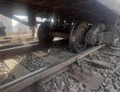 نجاة طفل من الموت بعد سقوطه من قطار في العياط