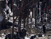 صور.. الشرطة الأمريكية تبحث عن أدلة فى انفجار مدينة ناشفيل