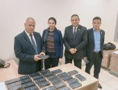 جمارك مطار القاهرة تضبط محاولة تهريب 32 هاتف محمول بقيمة 650 ألف جنيه
