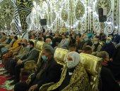 المئات فى عزاء المستشار لاشين إبراهيم وسط إجراءات وقائية مشددة.. فيديو وصور
