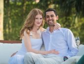جينيفر بيل جيتس تحتفل مع خطيبها المصرى نايل نصار بالكريسماس بصورة رومانسية