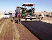 طفرة فى تطوير الطرق بأسوان.. محور جديد يحقق سيولة مرورية بين جنوب وشرق المحافظة