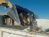 رفع 4 طن مخلفات من شوارع مدينة الحسنة بوسط سيناء