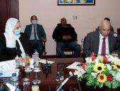 نيفين القباج فى ندوة أ ش أ: مصر ترجمت اهتمامها بحقوق الإنسان في دستور 2014