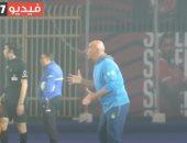 """الاهلي والاتحاد.. شاهد صدمة حسام حسن بعد صاعقة """"كهربا"""" فى شباك سيد البلد"""