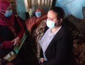 الرئيس عبدالفتاح السيسي يوجه بعلاج سيدة تعانى سمنة مفرطة من الباجور بالمنوفية
