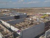 حصاد 2020.. إنشاء أكبر محطة معالجة مياه صرف من نوعها فى العالم ببورسعيد.. صور