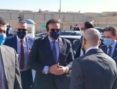 وزير التعليم العالى يصل دار عزل مستشفى سعاد كفافى تمهيدا لافتتاحها