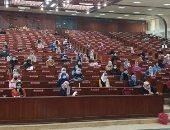 تطبيق الإجراءات الاحترازية والوقائية بجامعة المنصورة وحضور 25% من الطلاب