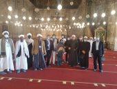 وفد من المتدربين السودانيين بأكاديمية الأوقاف الدولية يزورون قلعة صلاح الدين
