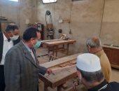 محافظ شمال سيناء يتفقد مركز التأهيل الاجتماعى ودار رعاية الأيتام بالعريش