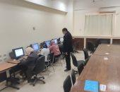 145 طالبا بطب بيطرى سوهاج يؤدون امتحانات العملى إلكترونيا لأول مرة