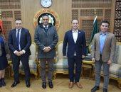 لجنة الطاقة والبيئة بتنسيقية شباب الأحزاب فى زيارة محافظة الدقهلية