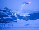 2020 يودع النرويج بكارثة طبيعية تبتلع المنازل والسكان.. فيديو وصور