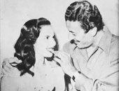 صور نادرة من شهر عسل شادية وعماد حمدى فى خمسينيات القرن الماضى