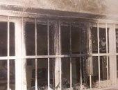 المعمل الجنائى يعد تقريرا حول حريق محل على يد عامل قتل صاحبه فى الجيزة