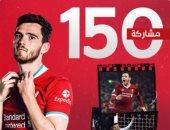 ليفربول يحتفى بمشاركة لاعبة أندرو روبرتسون رقم 150 أمام نيوكاسل