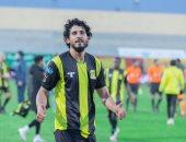 أحمد حجازى يكشف سر احتفاله بهدفه فى ديربى جدة أمام الأهلي