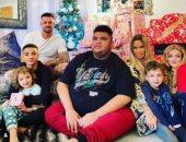 """كاتى برايس تحتفل بـ""""الكريسماس"""" بصحبة أطفالها"""
