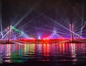 """""""المتحدة"""" تضيء سماء القاهرة بالألعاب النارية المبهرة احتفالا بالعام الجديد 2021"""