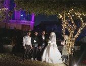 """آخر عروسين × 2020.. شاب وفتاة يودعان العام ببداية حياة جديدة """"فيديو"""""""