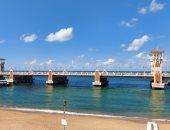 طقس دافئ بالإسكندرية أول أيام 2021..مباشر من شاطىء عروس المتوسط (فيديو لايف)