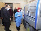 نائب محافظ سوهاج يتفقد مستشفى أخميم المركزى.. صور