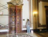 مجلس النواب يتزين تمهيدًا لانعقاد الفصل التشريعى الثانى.. صور