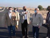 محافظ الأقصر يتابع تنفيذ المشروعات الخدمية والتنموية بمدينة القرنة