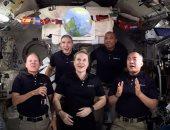 كيف استقبل رواد الفضاء العام الجديد خارج كوكب الأرض؟