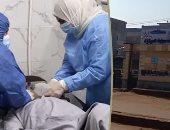 انخفاض عدد الإصابات بكورونا فى مستشفيات كفر الشيخ لـ5 حالات