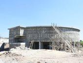 محافظ الشرقية يتابع أعمال إنشاء محطة مياه صان الحجر بتكلفه 350 مليون جنيه