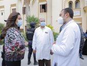 محافظ دمياط تتفقد مستشفى الأمراض الصدرية وتطالب بالتأكد من سلامة خزان الأكسجين
